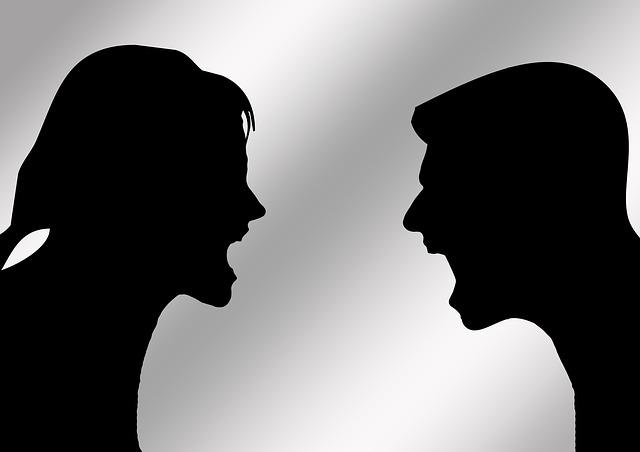 hádka dvojice