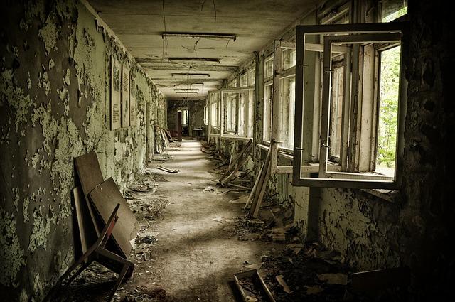 dům v černobylu